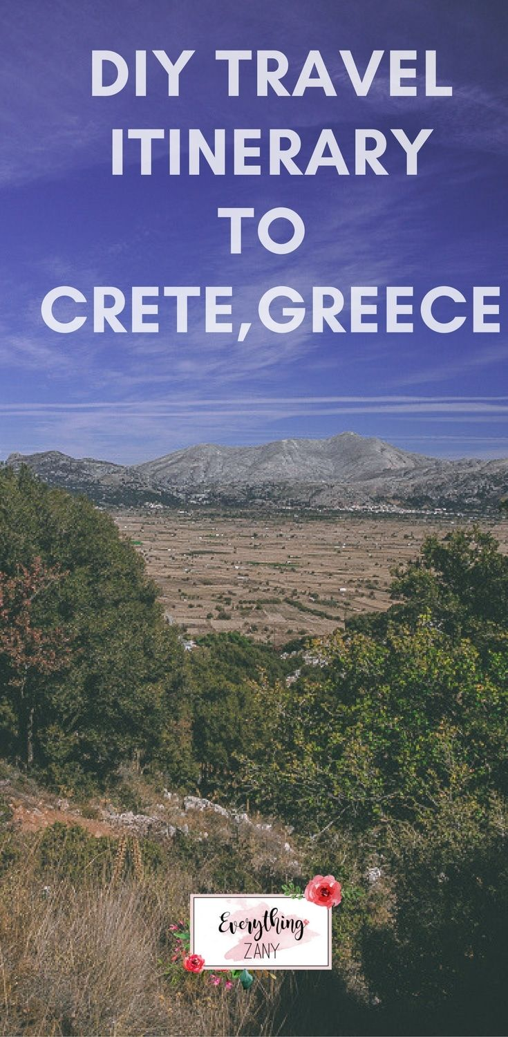 DIY Travel Itinerary to Crete at Lasitihi Plateau | #crete #creteisland #CreteGreece | Crete is the largest island in Greece. Crete has varied terrain ranging from fine-sand beaches to mountains. It has a rich history starting from its Minoan roots, the Venetian and the Ottoman occupations and also German occupation of the Second World War.