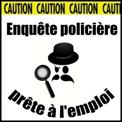 Enquête policière sous forme de jeu de rôle prête à l'emploi...