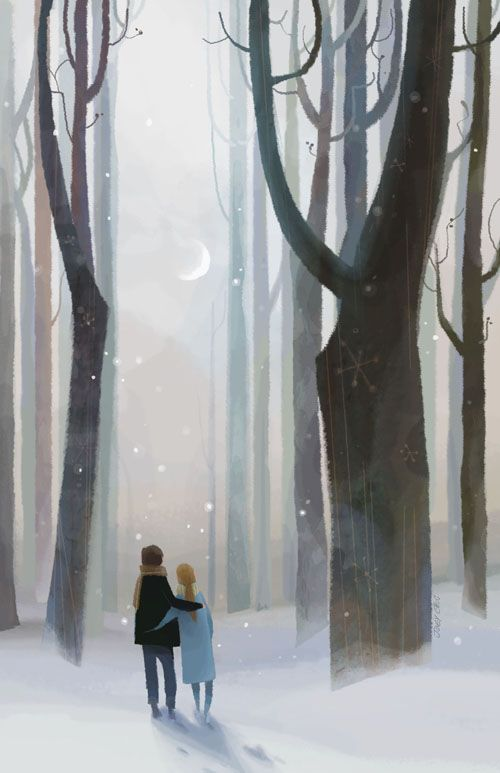 Daylight Moon by Joey Chou {prints available at Choo Choo Clan Publishing}