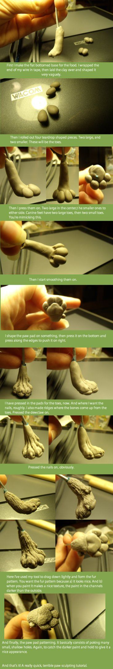 Canine Paw Tutorial. by Khrests on DeviantArt