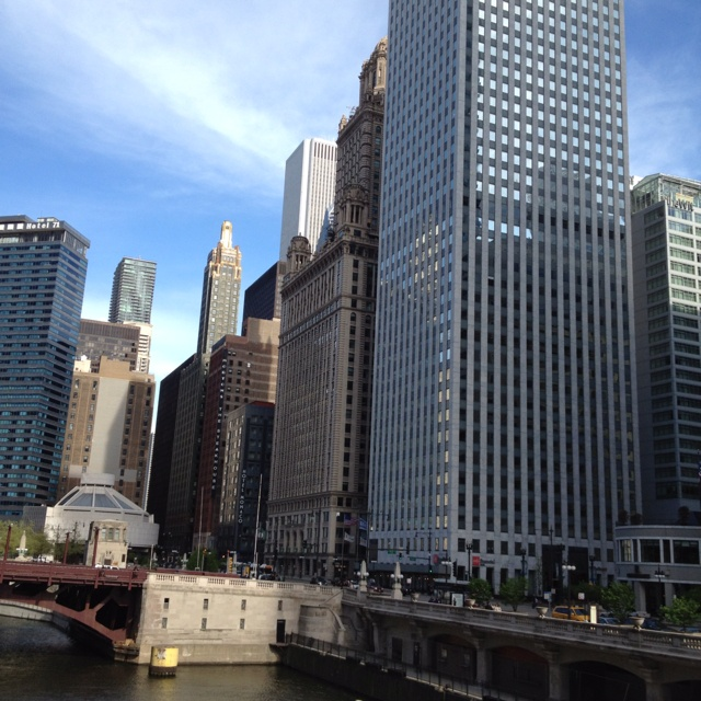 Chicago on a sunny day