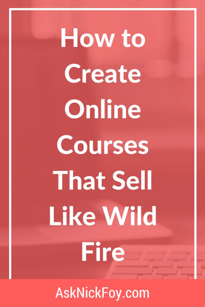 Need to create a new income source for your online business? Learn how to create online courses that sell like wild fire in today's guide!
