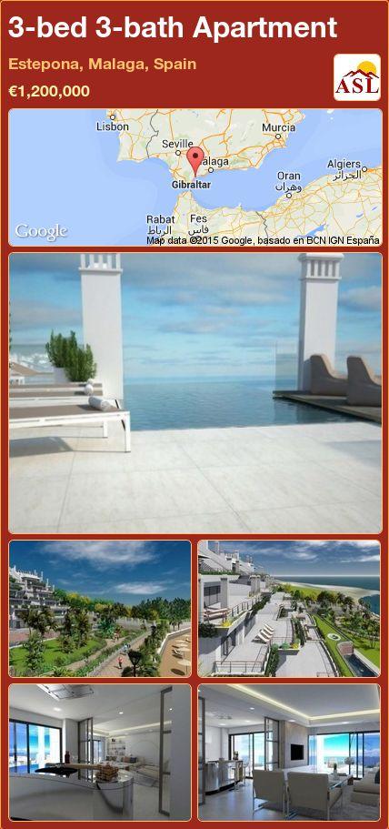 3-bed 3-bath Apartment in Estepona, Malaga, Spain ►€1,200,000 #PropertyForSaleInSpain