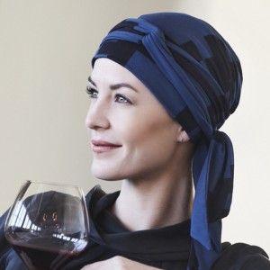 1012-0440 hierbaverde pañuelo turbante mantra mujer cabeza quimio quimioterapia cancer alopecia
