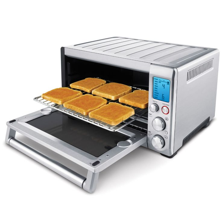 """The Best Toaster Oven - Hammacher Schlemmer - Described by The Wall Street Journal as capable of doing """"just about everything we use the oven for"""", this toaster oven earned the highest rating from the Hammacher Schlemmer Institute because it quickly cooked pizza and cookies and maintained a constant cooking temperature."""