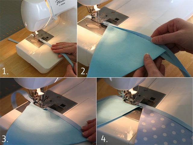 How to Make a Fabric Bunting ( b/c I always need instructions :p )