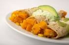 Butternut squash enchiladas via Dallas News