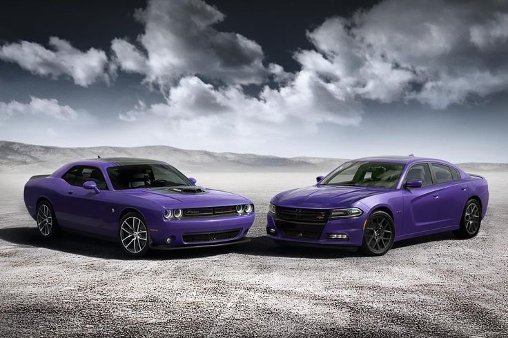 Dodge goes back to 1970 with 'Plum Crazy' paint for the Challenger and Charger