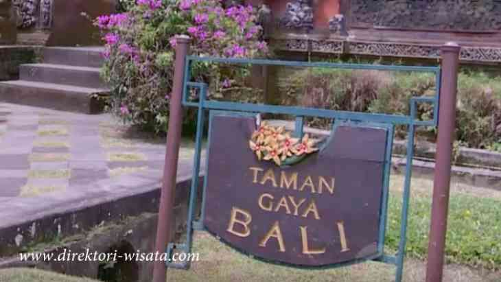 Taman Gaya Bali yang menyajjkan ciri khas  dengan adanya kukul yang berada di kawasan Puncak Bogor.