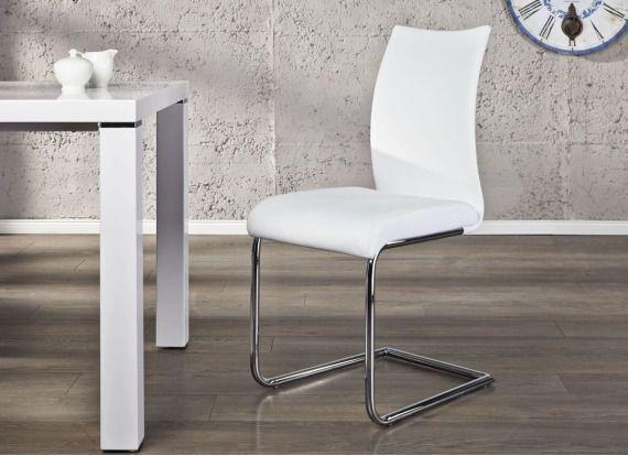 Krzesło Porto - białe