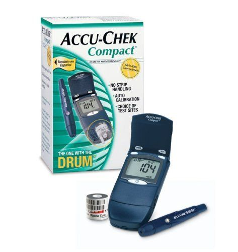 Accu Chek Compact Blood Glucose Meter Kit Each Model
