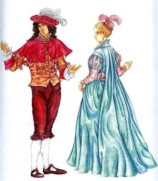 Роль аксессуаров в дамском европейском костюме xviii века