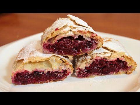 Pita sa višnjama – video recept — Domaći Recepti