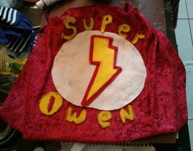 Adorable super hero cape