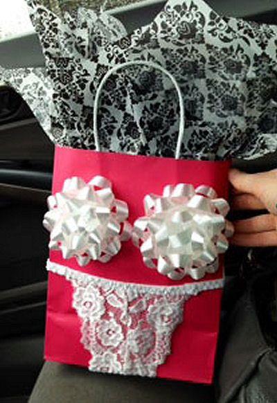 bachelorette gift bag idea
