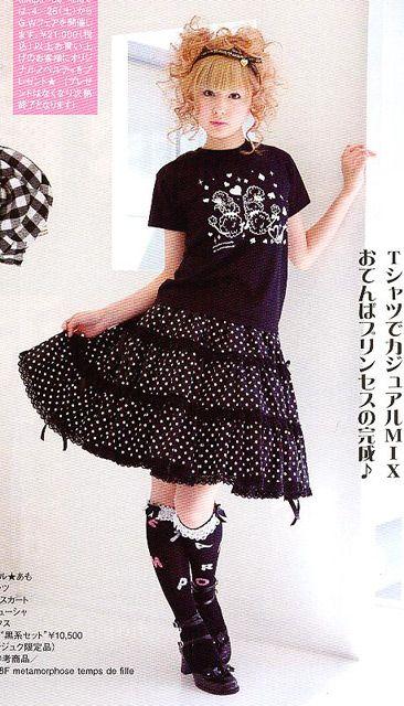 Casual Punk Lolita Model