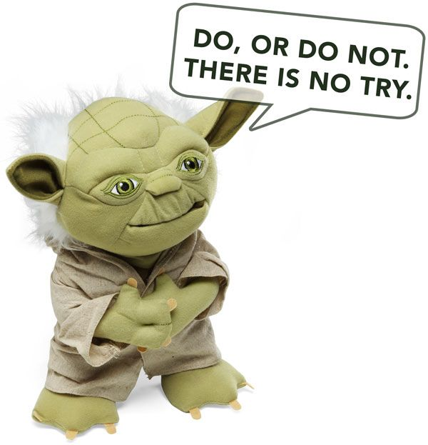 yoda close - Saturday Sales Fun In Just 24 Seconds - Jedi Selling - The Yoda Close...:-)