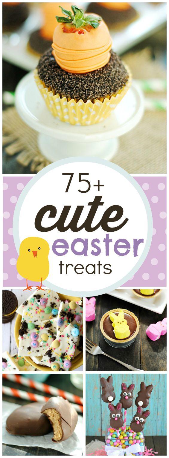 75+ Cute Easter Treats | www.somethingswanky.com