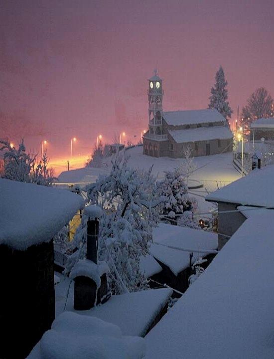 Milia village, Epirus, Greece