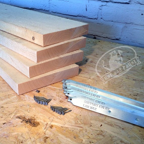 Scaffold Boards / Planks with Metal Band Ends. Make Scaffold Board Furniture Design Ideas from Desks to Shelves or Tables. Free UK P&P