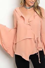 Resultado de imagen para blusas con olanes