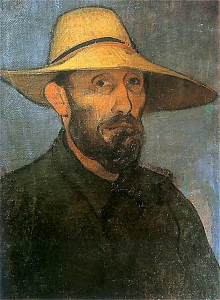 Wladyslaw Slewinski - Self Portrait   1894