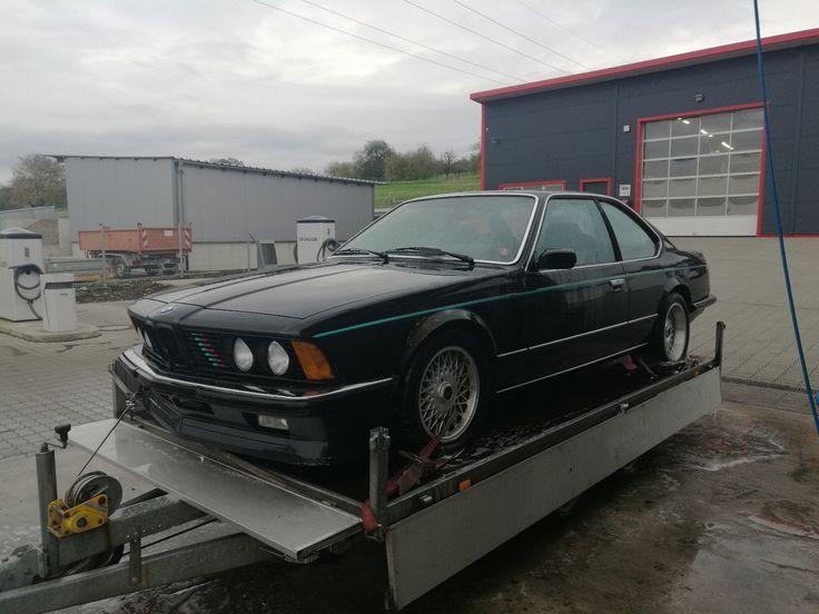 BMW 635 CSI Bj. 85 mit BBS Felgen Wunderschönes Oldtimer Projekt Versuch Nr.2