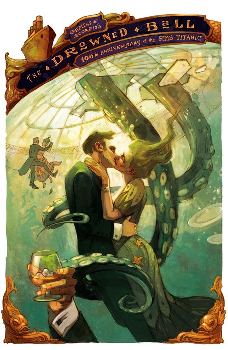Kurt Huggins, Zelda Devon - 100th Anniversary of the RMS Titanic  #Tentacles