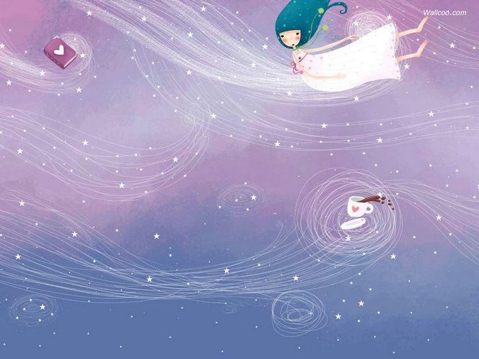 Dream of Echi - Echi Illustrations (Vol.02)   - Elegant Echi Girl - Beautiful Echi Illustration Wallpaper 36