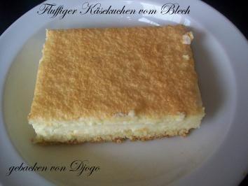 Rezept: Fluffiger Käsekuchen vom Blech Bild Nr. 2