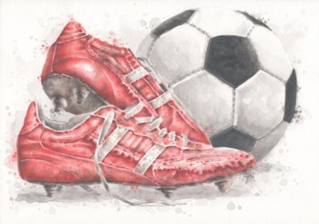 Steven Coughlin - red football boots.jpg