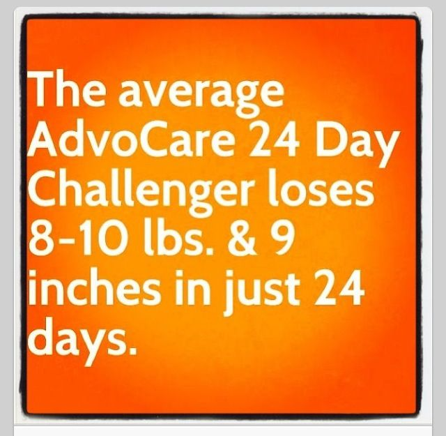 Advocare's 24 day challenge - real food, real nutrition, real results! https://www.advocare.com/130820352