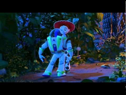▶ Toy Story 3 Clip - Buzz's Spanish Dance - Thinking with your eyes and making smart guesses.