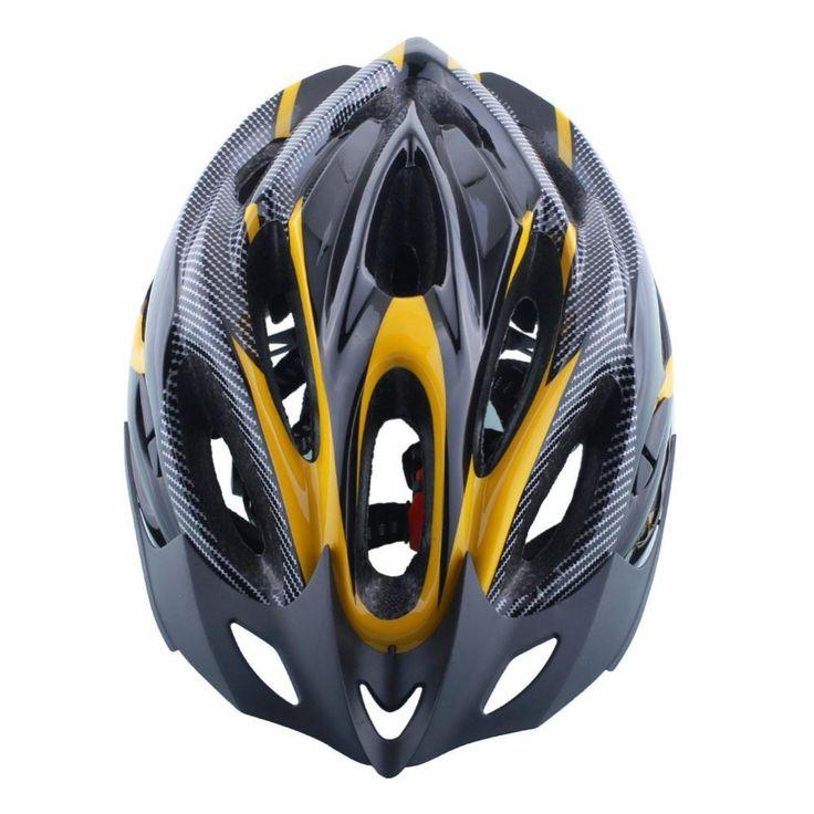 Sepeda Helm Pria Wanita Keselamatan Unisex Helm Jalan Gunung Cahaya Sepeda Integral Dibentuk Helm Bersepeda