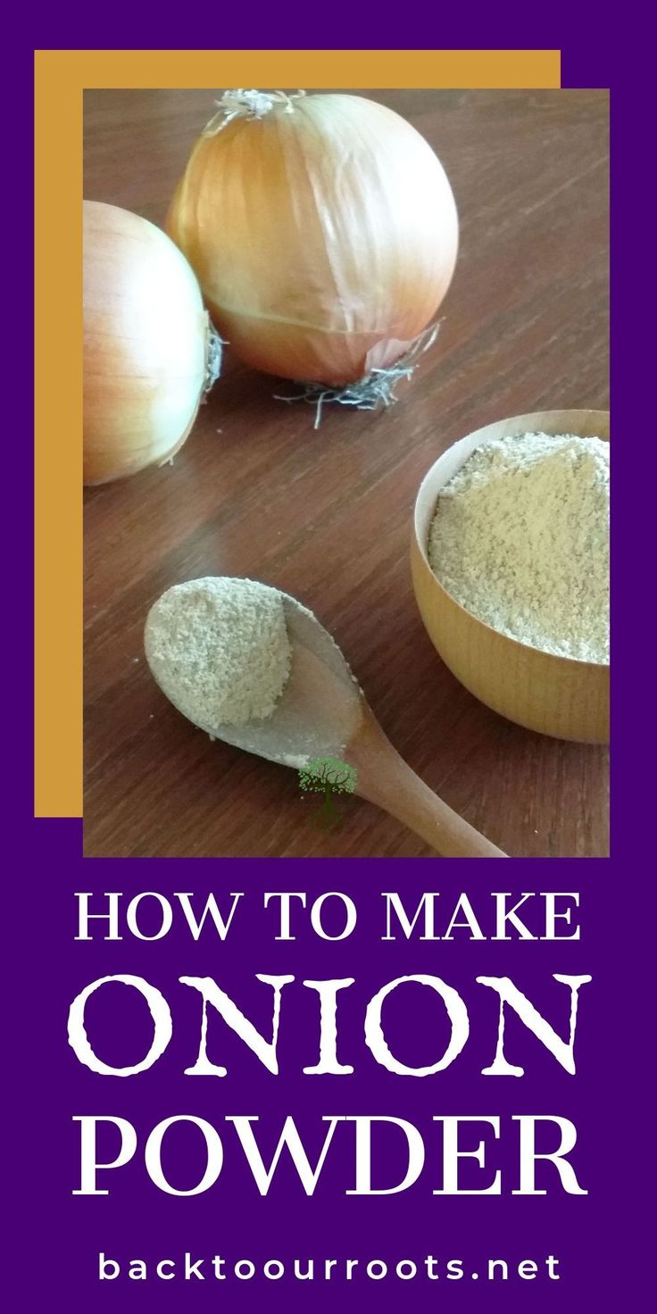 Making your own homemade onion powder is simple and easy! Don't let those on…