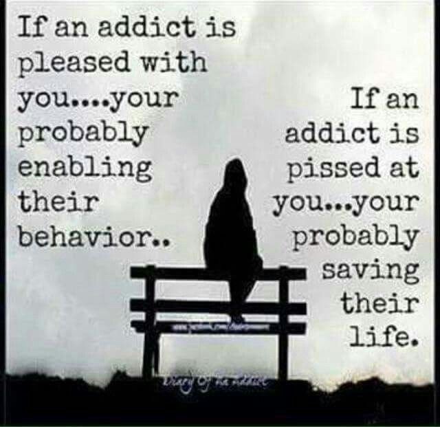 signs youre dealing with addict