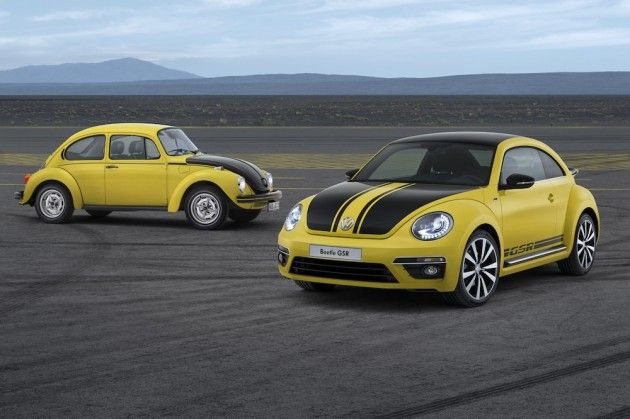 Volkswagen Limited-Edition Beetle GSR for 2014