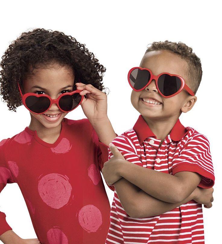 Heart Sunglasses for Kids too cute!!