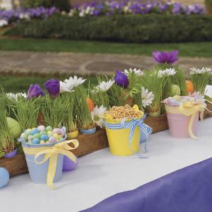 Spring Table Settings and Centerpieces | Kid-Friendly Easter Table  | SouthernLiving.com