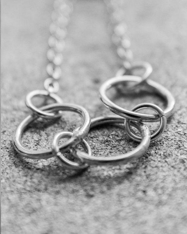 Necklace 1 1 900 kr Necklace 925 sterling silver.  Handmade in Stockholm