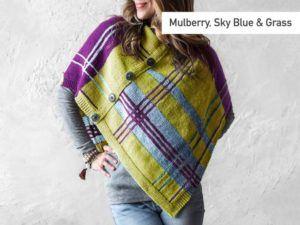 Plaidaptation Poncho Knitting Kit
