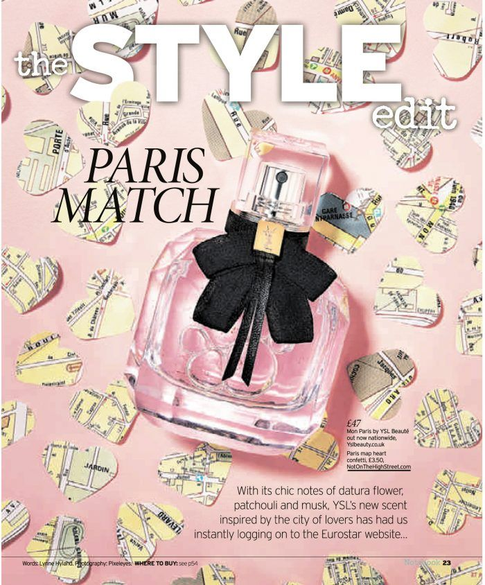 Press Feature in Notebook Magazine of my #paris #mapconfetti