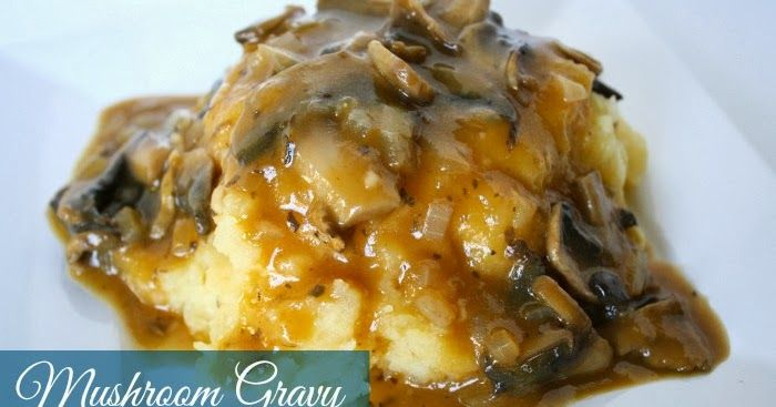 Last year I saw and immediately drooled over this  Wild Mushroom Gravy  on Oh My Veggies. Needless to say, it totally rocked o...