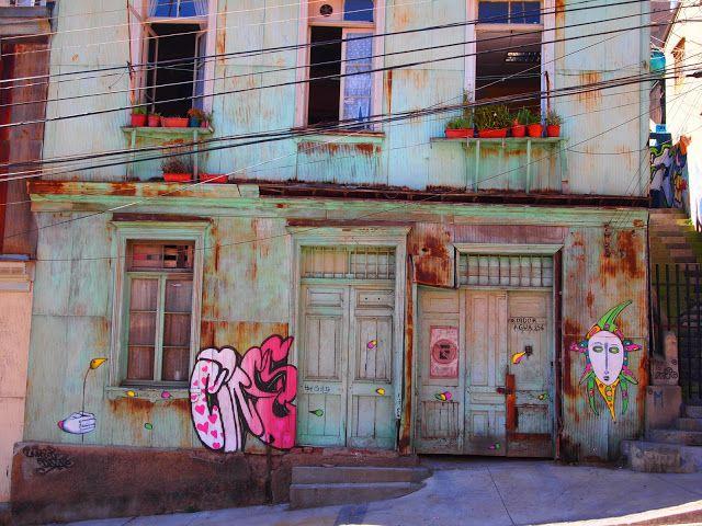 Valparaíso, Chile street art