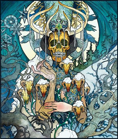 """Beyond The Permafrost"" by John Baizley"