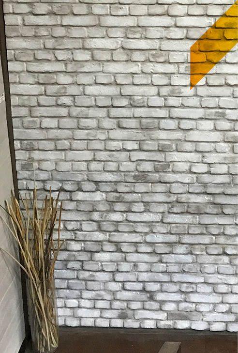 Rincones llenos de textura con los paneles de ladrillo macizo de MSD