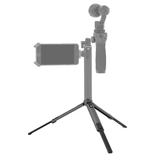 DJI Osmo Tripod Place the Osmo securely on almost any surface.  *The Tripod must be used with the Extension Rod.  The DJI Osmo Tripod tripod comes with ... - Cameras Direct - Google+