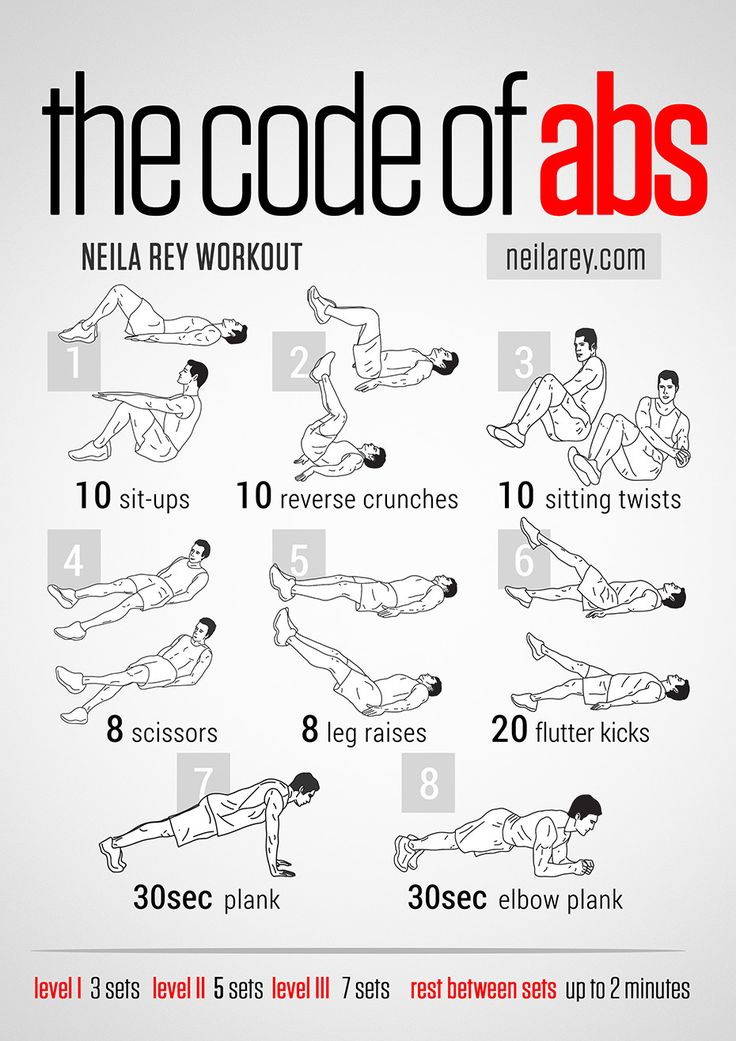 8 Simple Abs Building Exercises