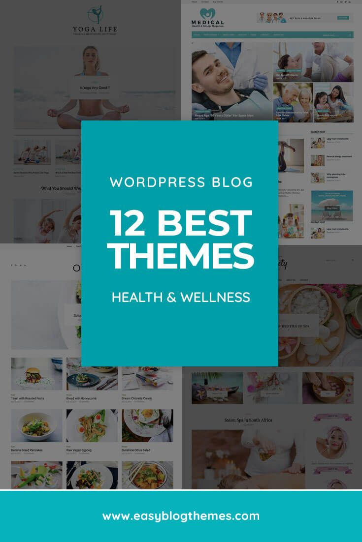 89016803c3aef 12 Best Health and Wellness WordPress Blog Themes of 2019 | All things  Websites & Blogging | Blog topics, Health, wellness, Best wordpress themes