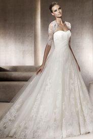 Este vestido de noiva tomara que caia com jaqueta 3/4 em renda voce encontra na Rosa Mello Vestidos Ref. RM015 / 1o. aluguel R$ 2,600 http://www.rosamellovestidos.com